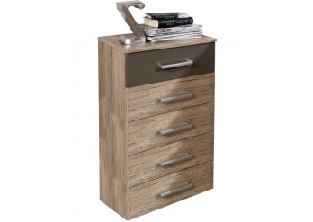 ΣΥΡΤΑΡΙΕΡΑ SANREMO OAK LIGHT - LAVA GREY
