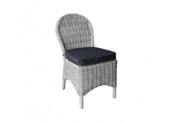 ΚΑΡΕΚΛΑ GREY WHITE 5mm ROUND WICKER